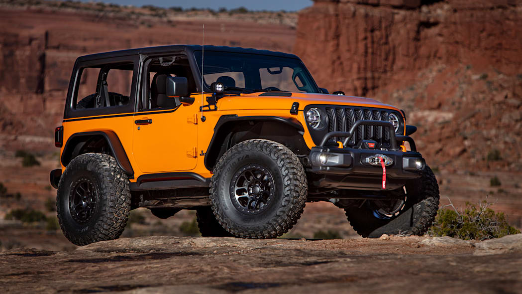 Jeep Orange Peelz front low