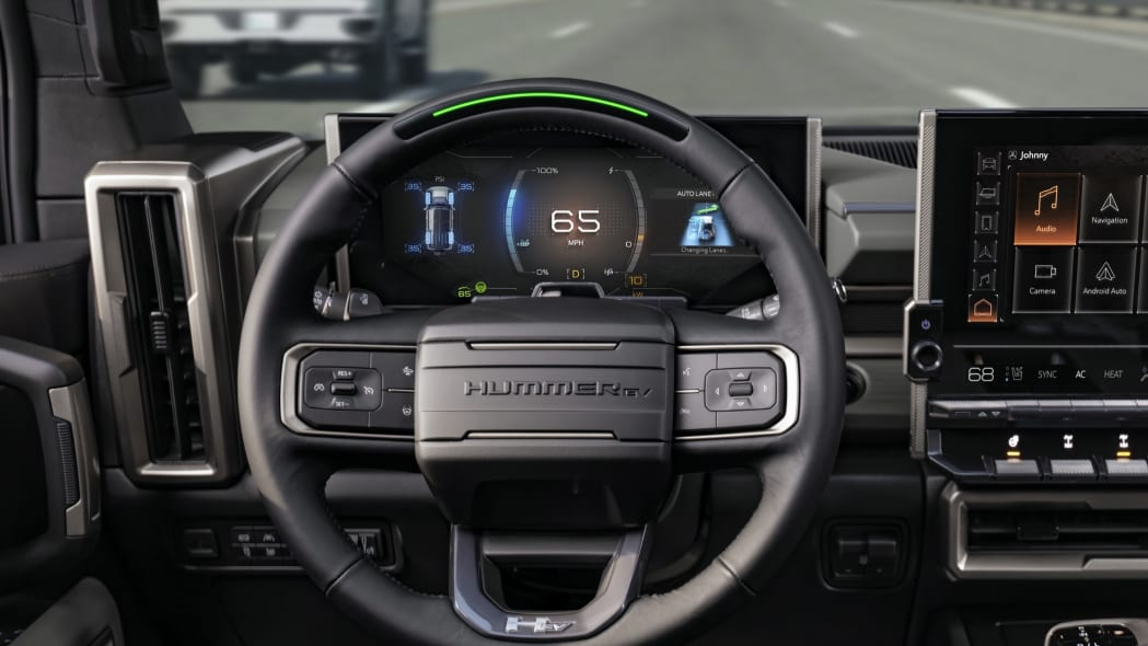 2024 Hummer EV SUV interior