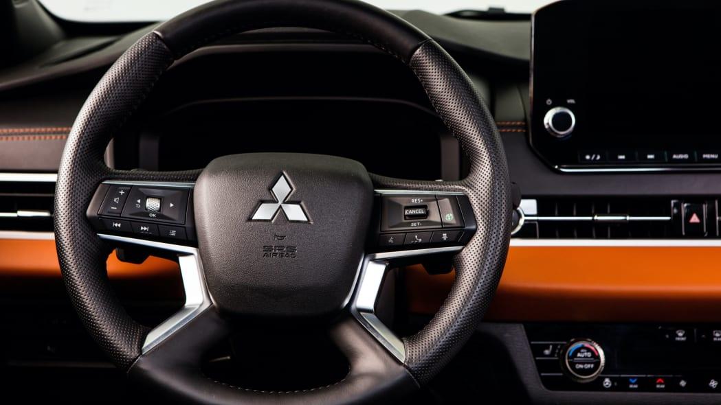 2022 Mitsubishi Outlander interior detail shot