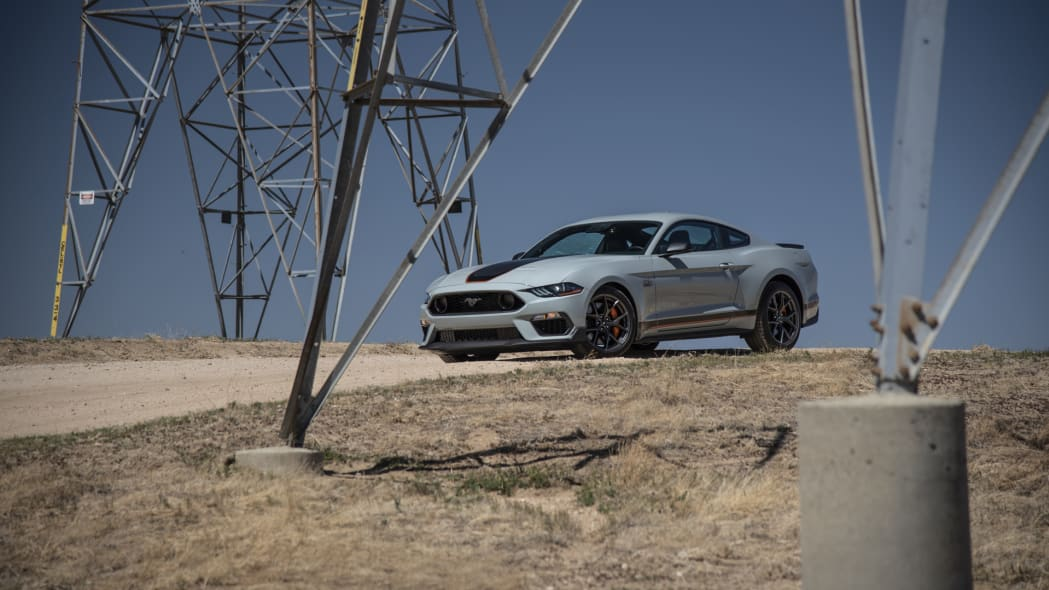2021 Ford Mustang Mach 1 front afar