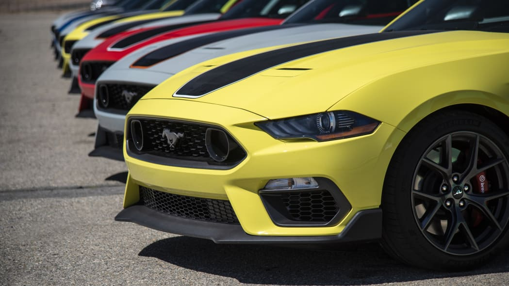 2021 Ford Mustang Mach 1 lineup
