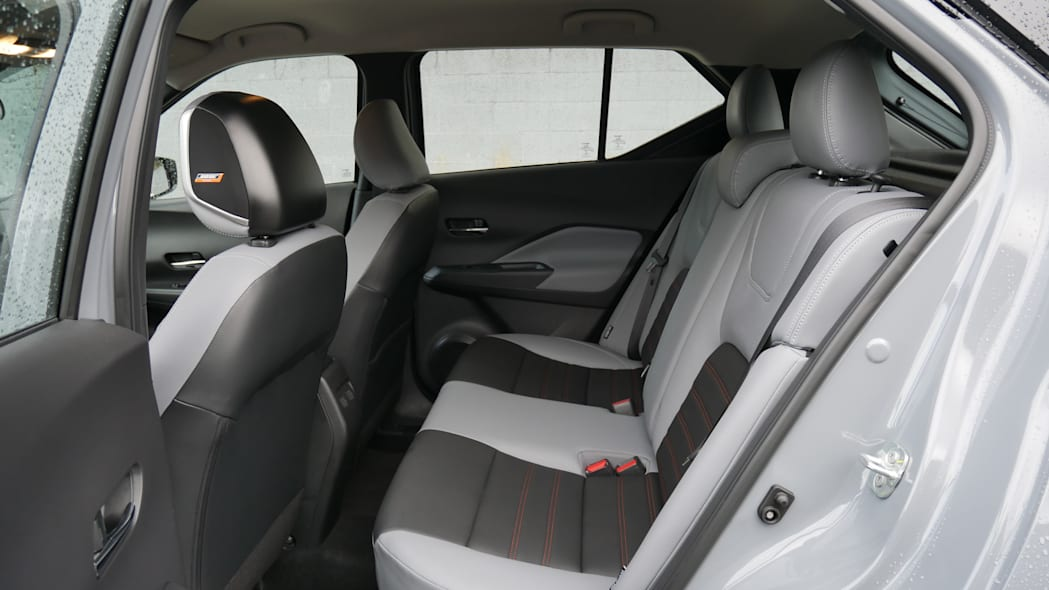 2021 Nissan Kicks SR Premium Interior back seat