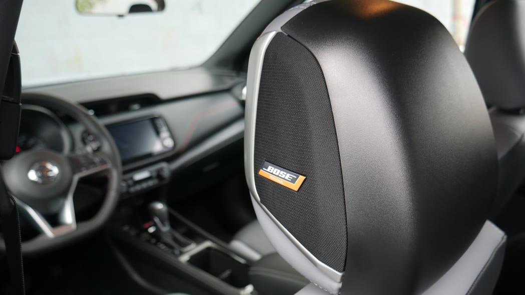 2021 Nissan Kicks SR Premium Interior Bose headrest speakers