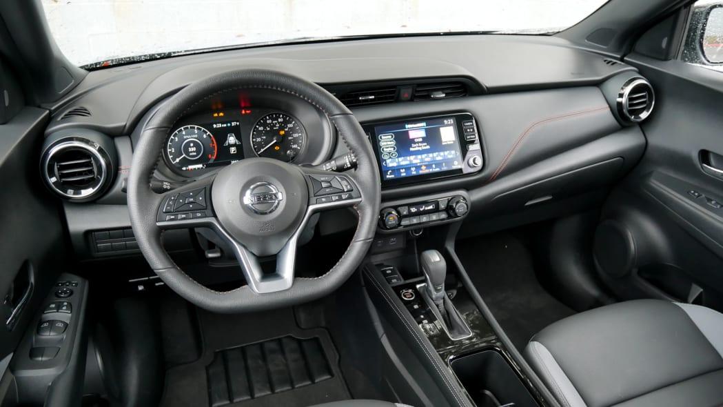 2021 Nissan Kicks SR Premium Interior from driver