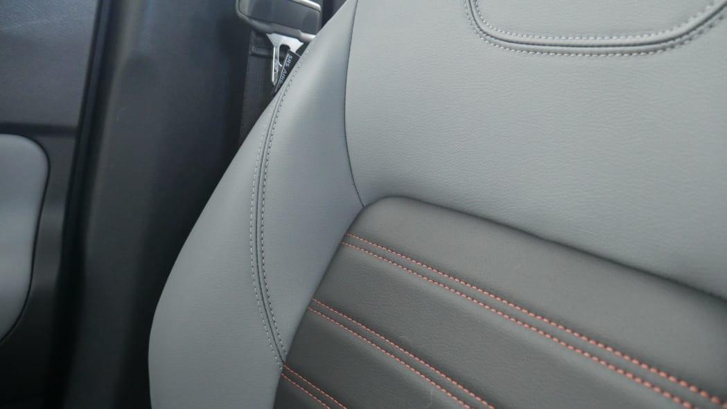 2021 Nissan Kicks SR Premium Interior Prima-Tex upholstery