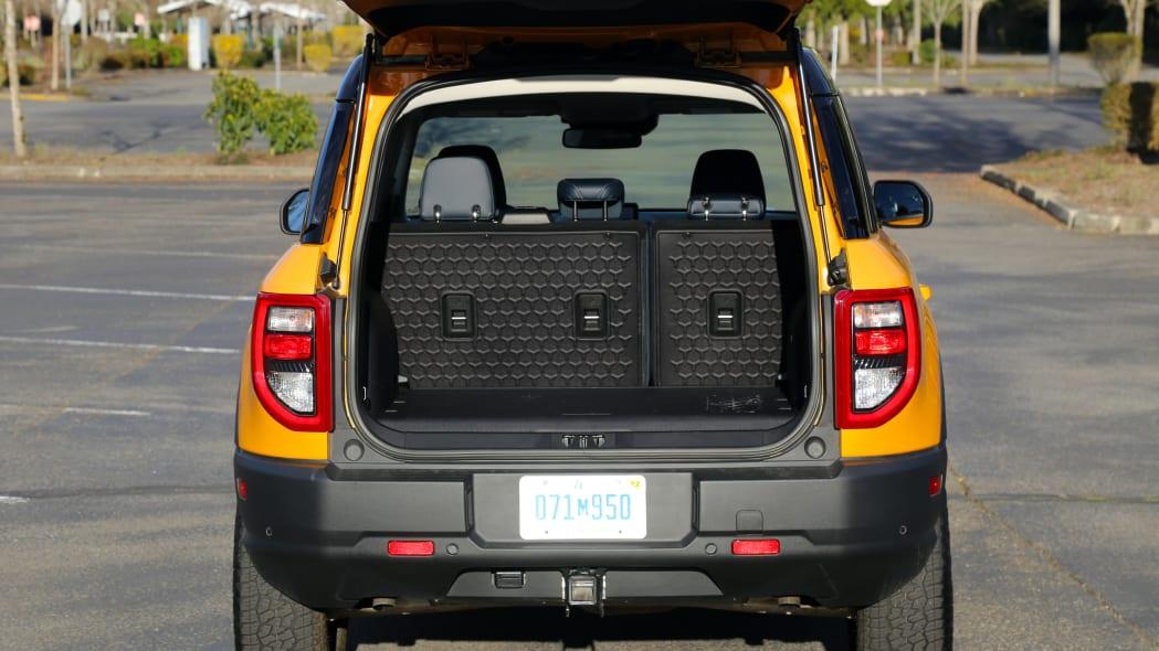 Ford Bronco Sport First Edition in Cyber Orange Metallic
