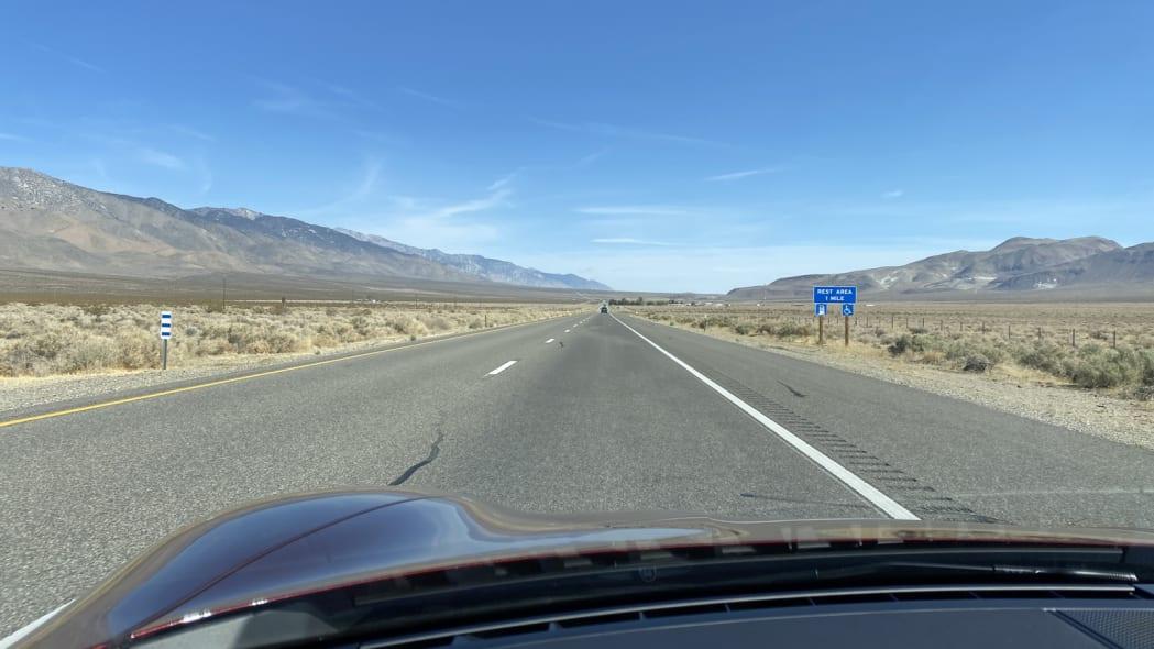 long desert highway hood rest area