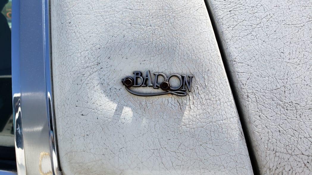 05 - 1988 Chrysler LeBaron in Colorado junkyard - photo by Murilee Martin