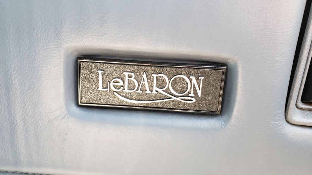 23 - 1988 Chrysler LeBaron in Colorado junkyard - photo by Murilee Martin