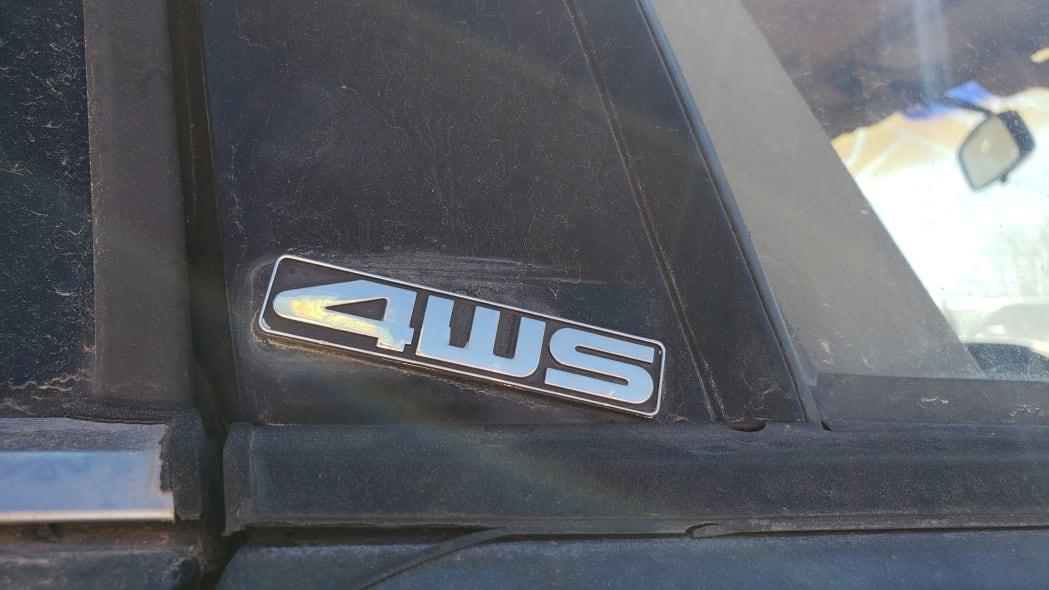 03 - 1989 Honda Prelude Si 4WS in Colorado junkyard - photo by Murilee Martin