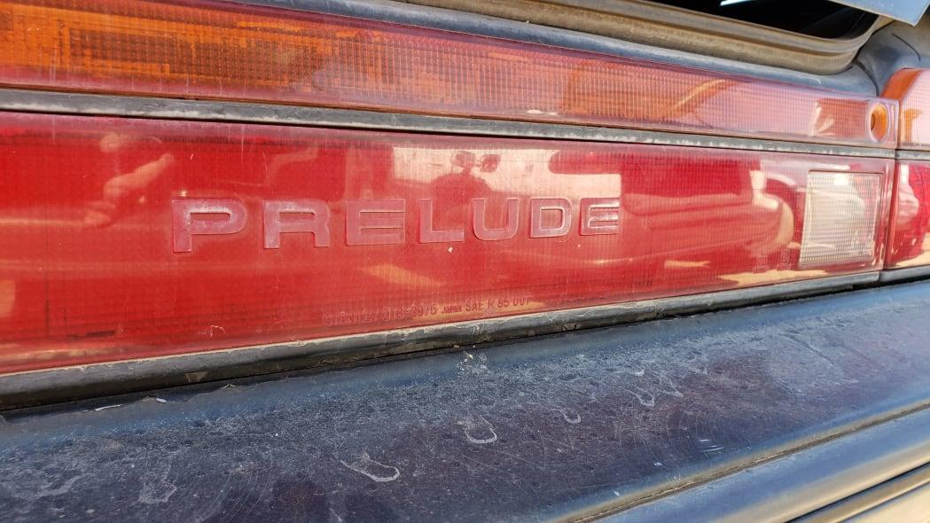 48 - 1989 Honda Prelude Si 4WS in Colorado junkyard - photo by Murilee Martin
