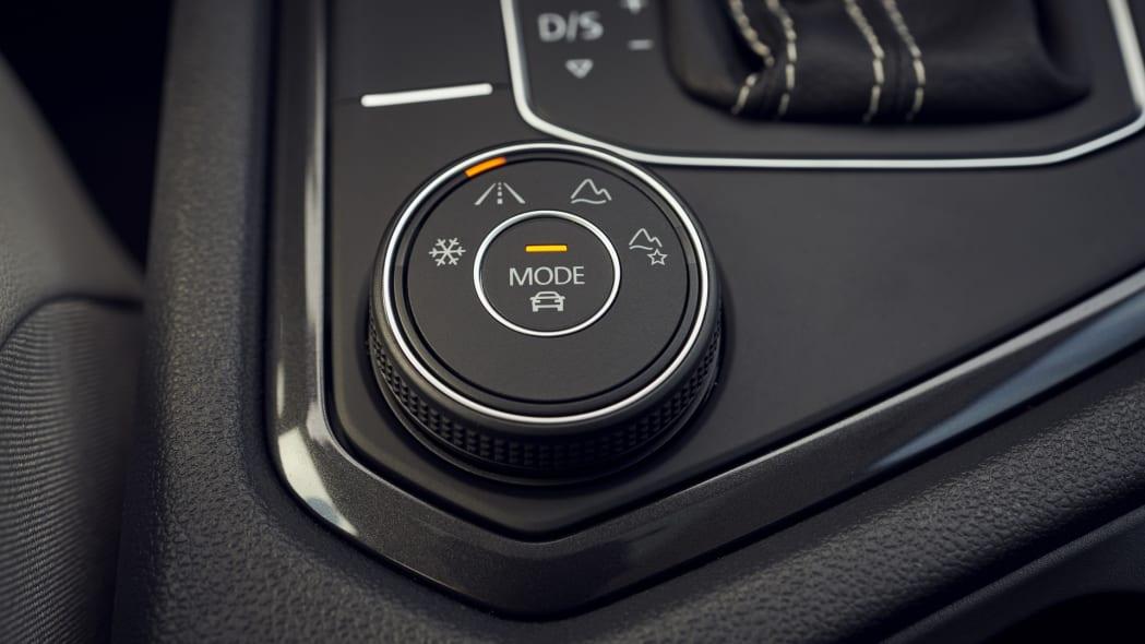 2021 VW Tiguan off road modes