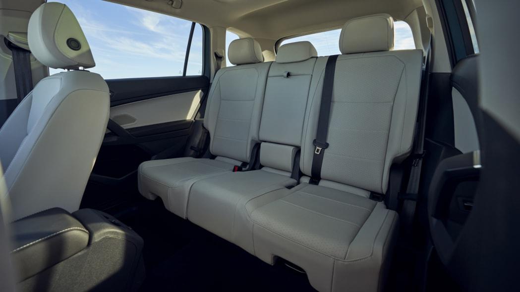 2021 VW Tiguan back seat