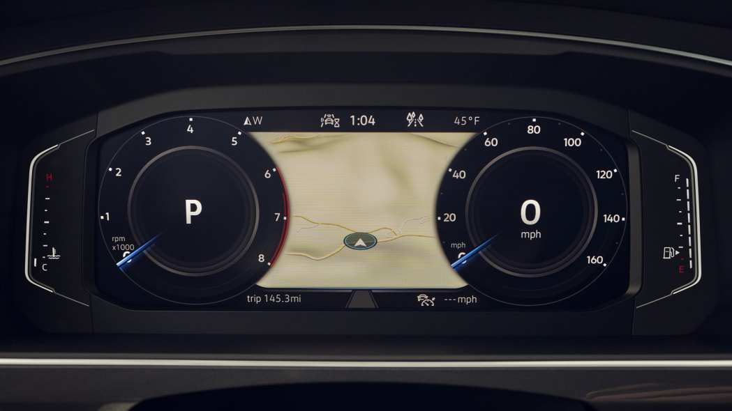 2021 VW Tiguan Digital Cockpit