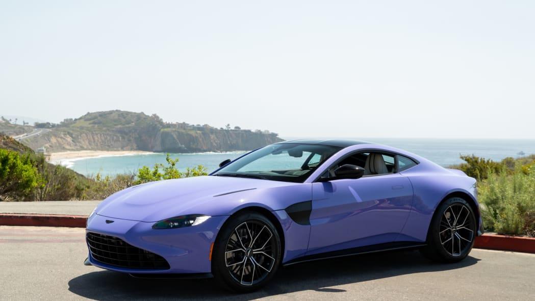 Aston Martin Newport Beach Vantage Ultra Violet 01