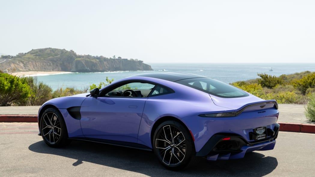 Aston Martin Newport Beach Vantage Ultra Violet 02