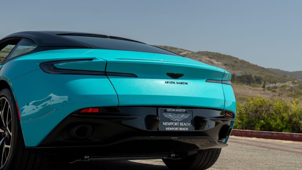 Aston Martin Newport Beach DB11 Butterfly Teal 06