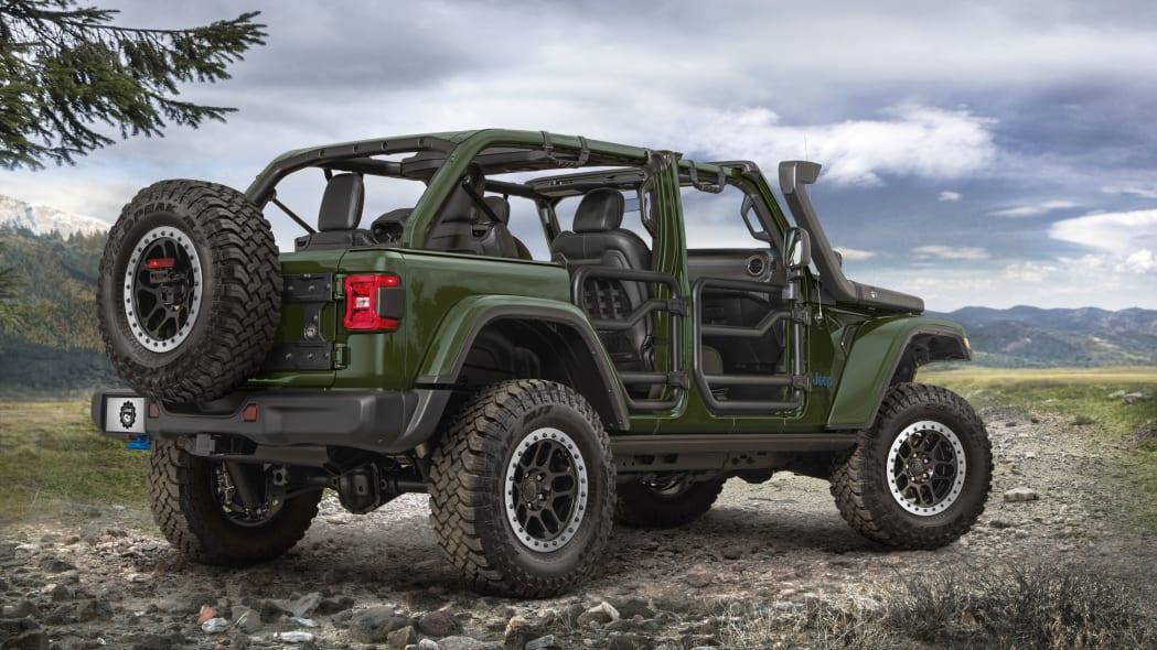 2021 Jeep Wrangler 4xe w/lift kit installed