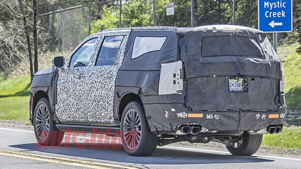Cadillac Escalade V prototype