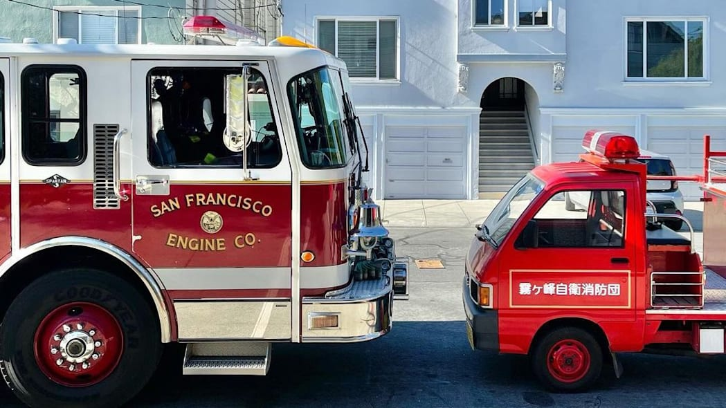 Daihatsu Hijet Fire Truck Kiri San Francisco 08