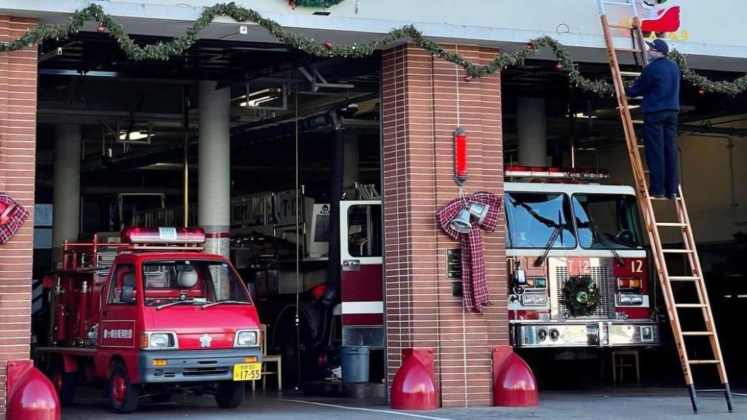 Daihatsu Hijet Fire Truck Kiri San Francisco 01