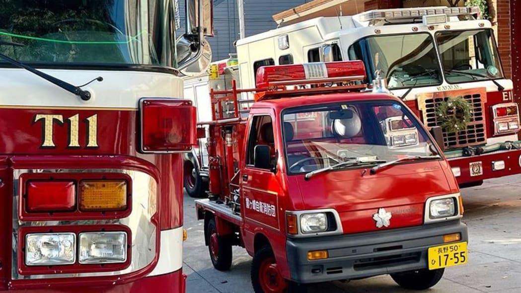 Daihatsu Hijet Fire Truck Kiri San Francisco 06