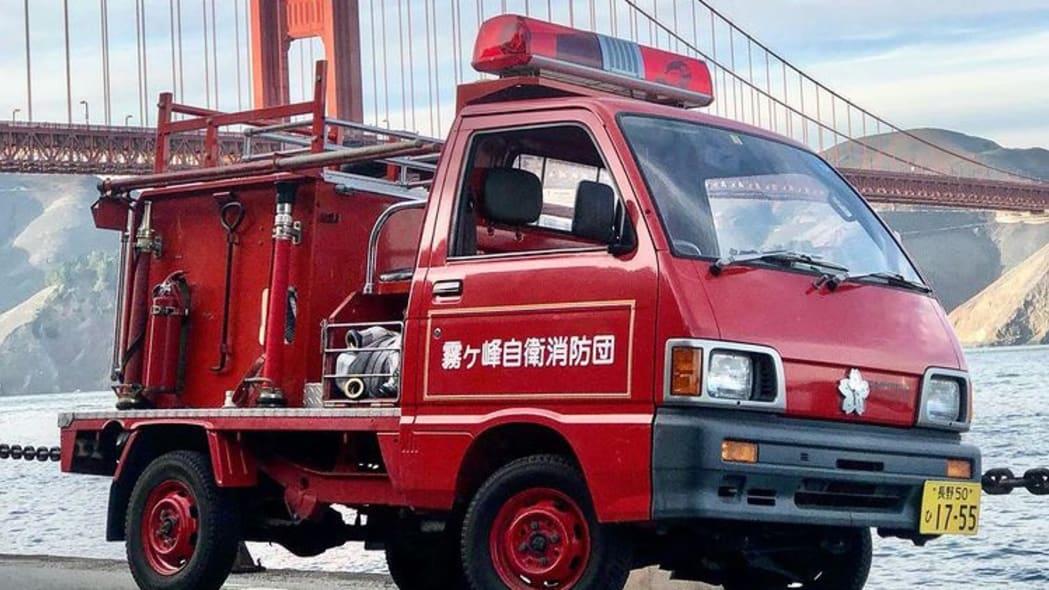 Daihatsu Hijet Fire Truck Kiri San Francisco 05