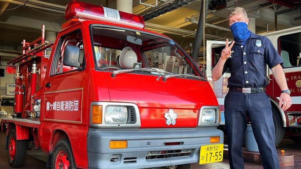 Daihatsu Hijet Fire Truck Kiri San Francisco 04