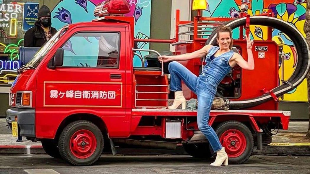 Daihatsu Hijet Fire Truck Kiri San Francisco 03