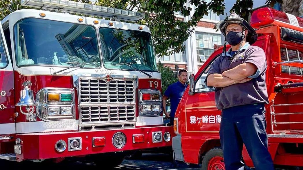 Daihatsu Hijet Fire Truck Kiri San Francisco 02