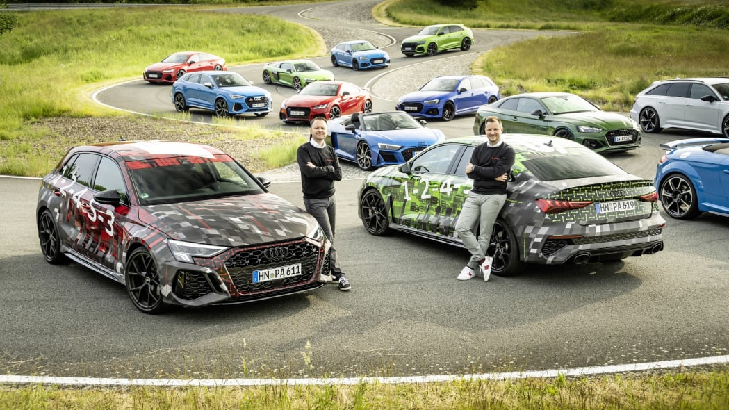 2023 Audi RS3 preview