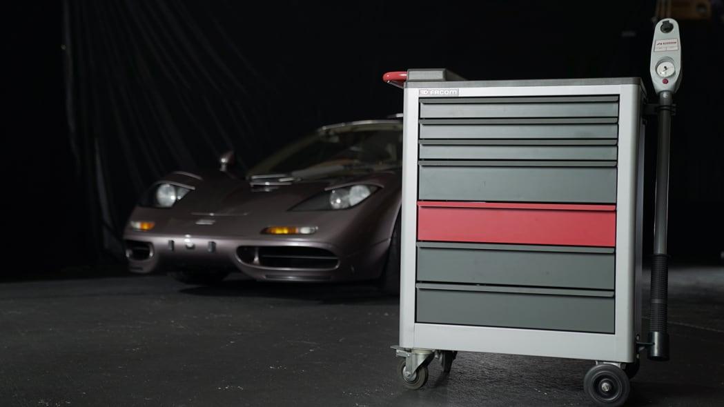 1995 McLaren F1 tool chest