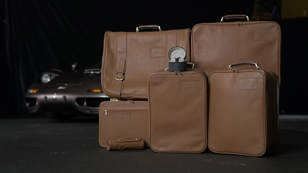 1995 McLaren F1 luggage and watch