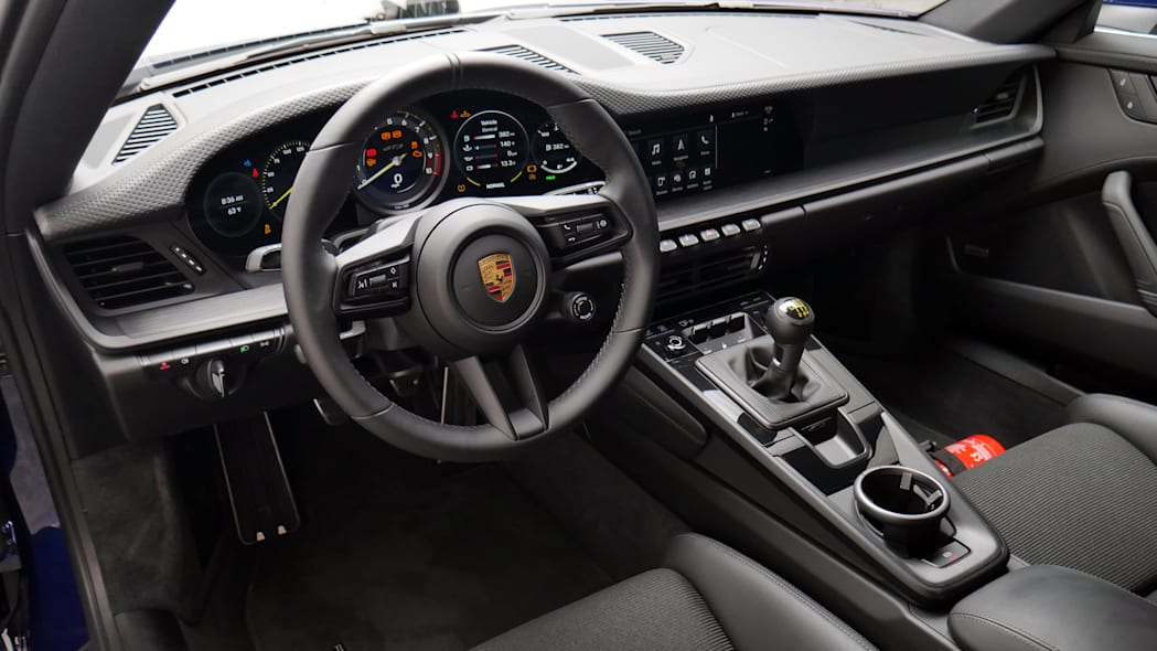 2022 Porsche 911 GT3 Touring interior