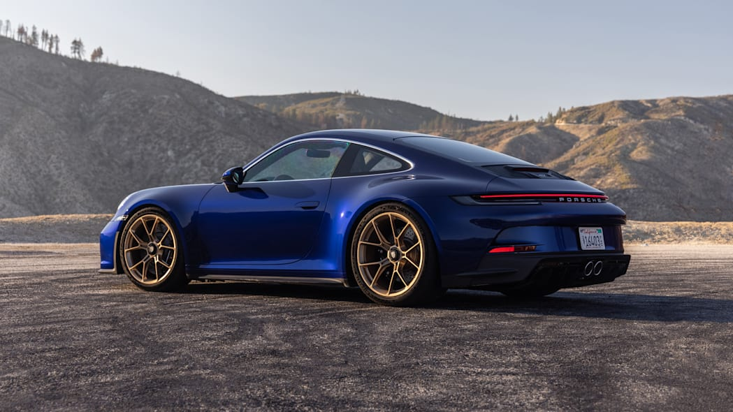 2022 Porsche 911 GT3 Touring rear three quarter