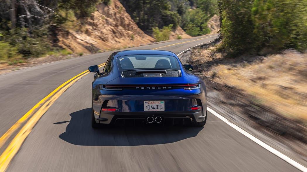2022 Porsche 911 GT3 Touring action rear high