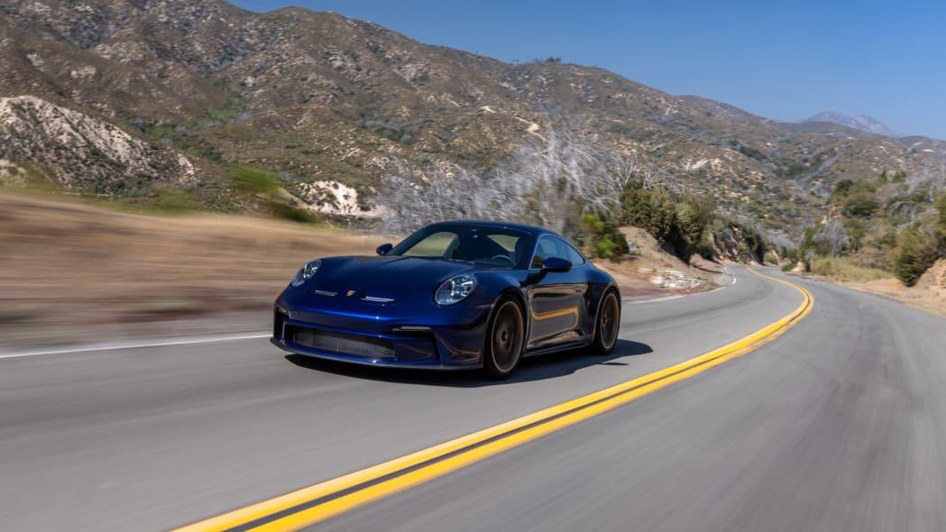 2022 Porsche 911 GT3 Touring action mountains