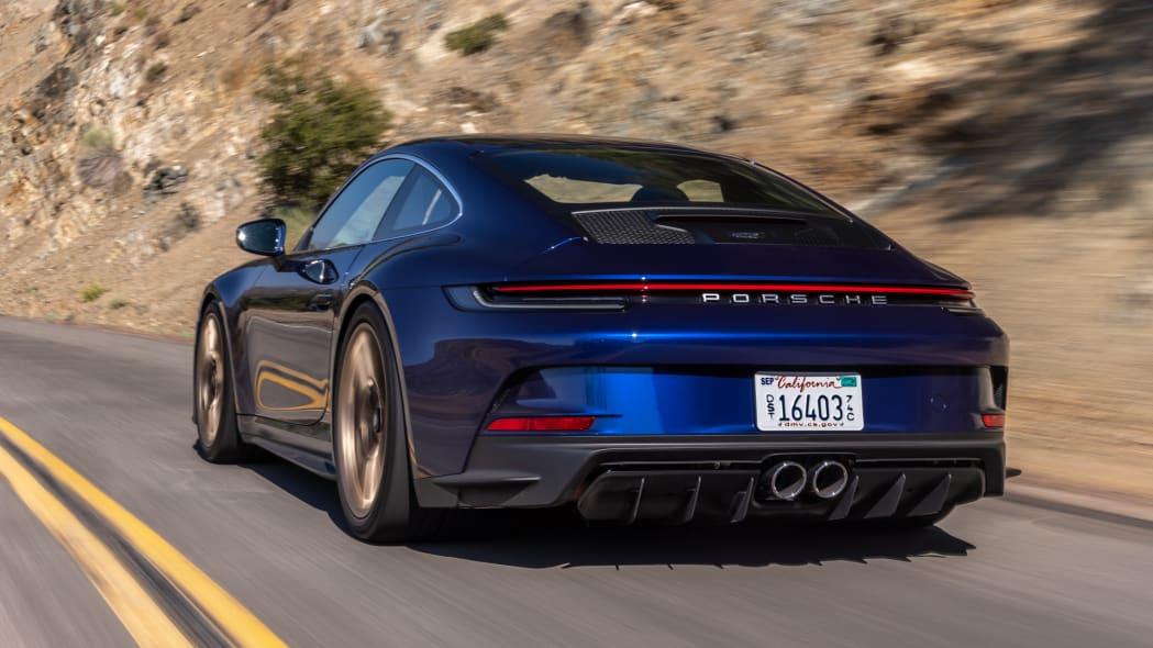 2022 Porsche 911 GT3 Touring action rear