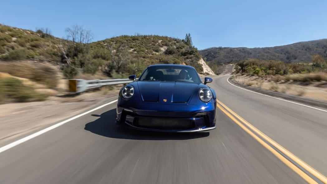 2022 Porsche 911 GT3 Touring action front