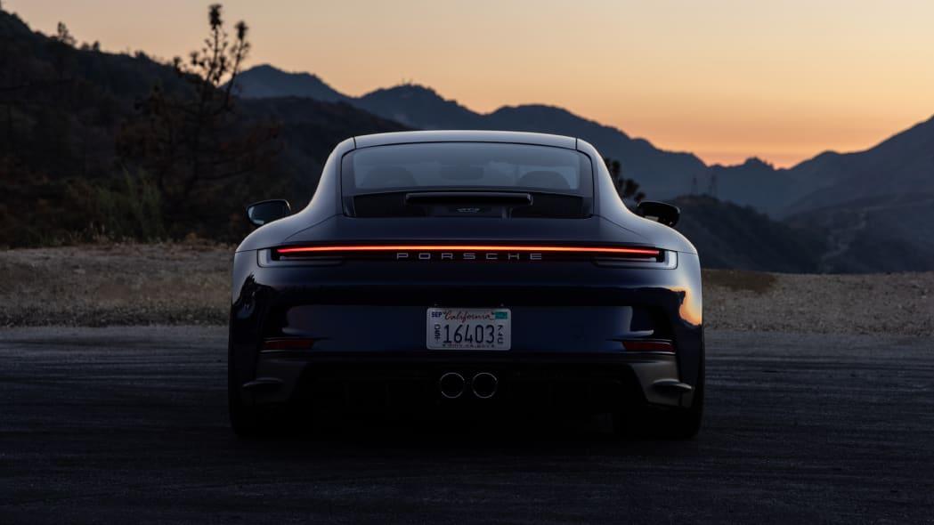 2022 Porsche 911 GT3 Touring rear lights