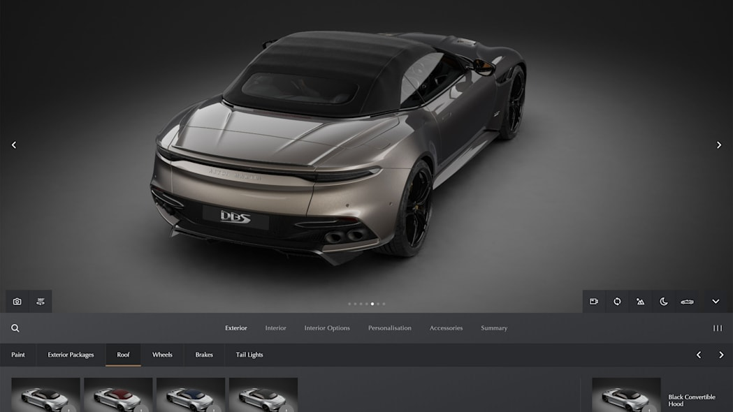 2022 Aston Martin Configurator