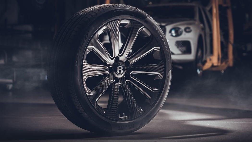 Bentley Bentayga carbon fiber wheels