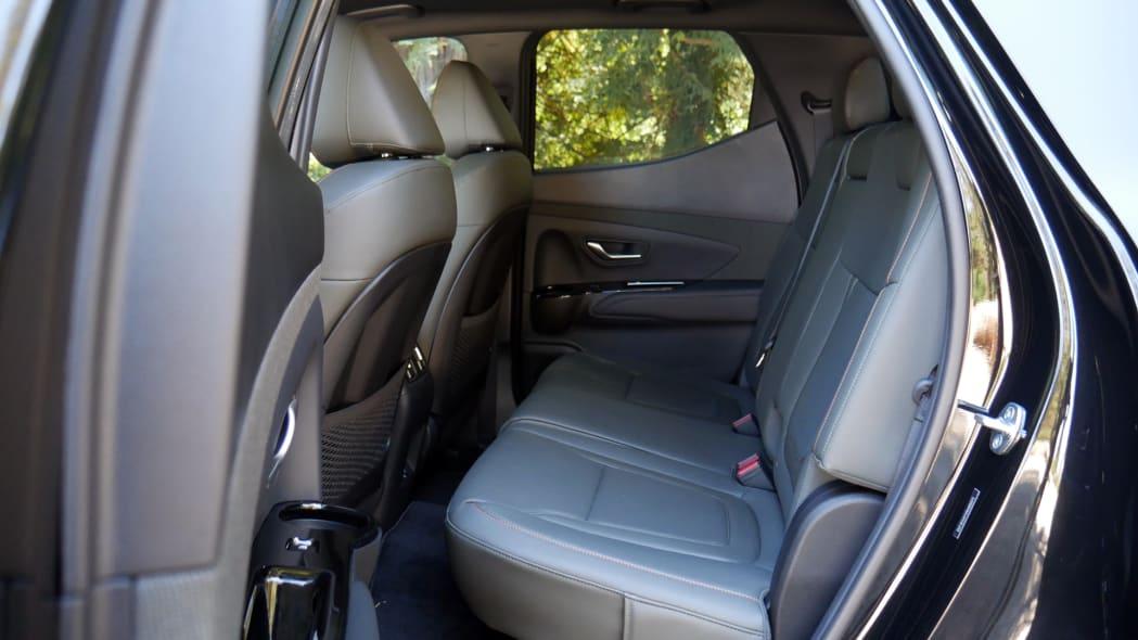 2022 Hyundai Santa Cruz back seat