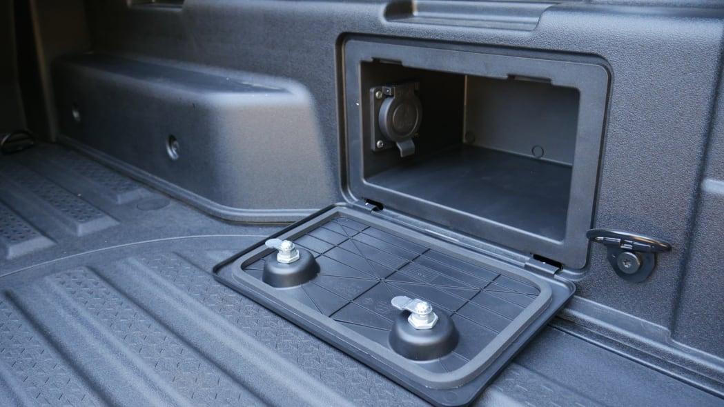2022 Hyundai Santa Cruz bed bin right
