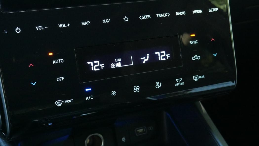 2022 Hyundai Santa Cruz HVAC