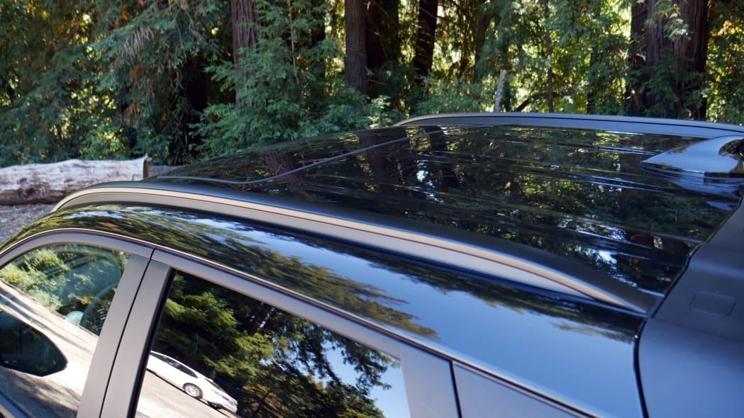 2022 Hyundai Santa Cruz roof rails