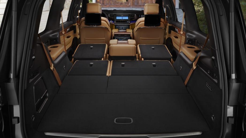 All-new 2022 Grand Wagoneer rear interior cargo space (94.2 cu.