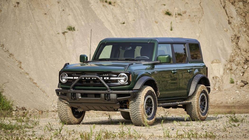 2022 Ford Bronco in Eruption Green Metallic