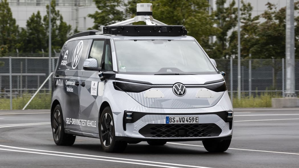 Volkswagen ID.Buzz Argo AI test vehicle