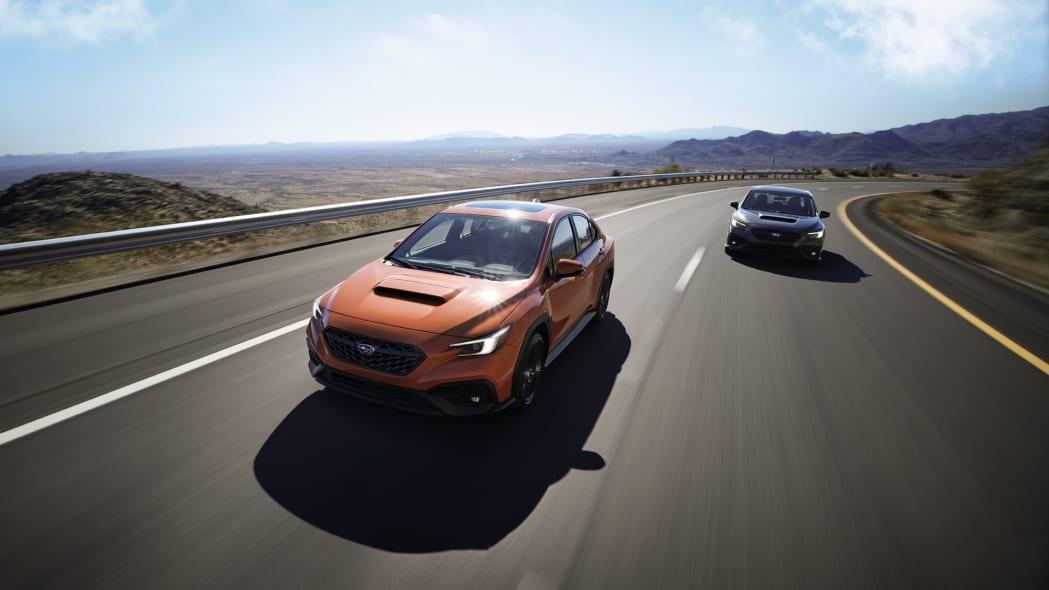 2022 Subaru WRX group high action